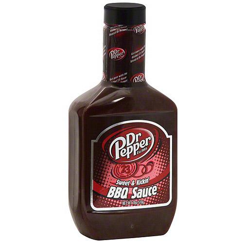 Dr Pepper Sweet & Kickin' Bbq Sauce, 18
