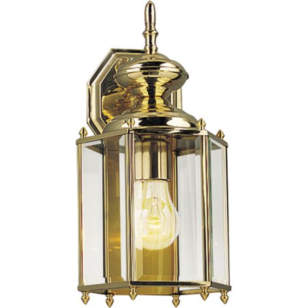BrassGUARD Collection One-Light Wall Lantern (Brassguard Wall)