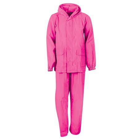 MOSSI YTH ADVENTURE -RAIN SUIT-FUCHSIA - SMALL
