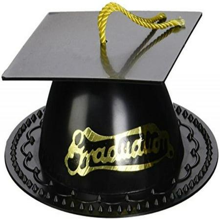Graduation Cap Cake Topper - Black - Walmart.com