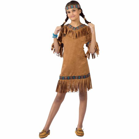 Native American Girl Child Halloween Costume (Sun Drop Girl Halloween Costume)