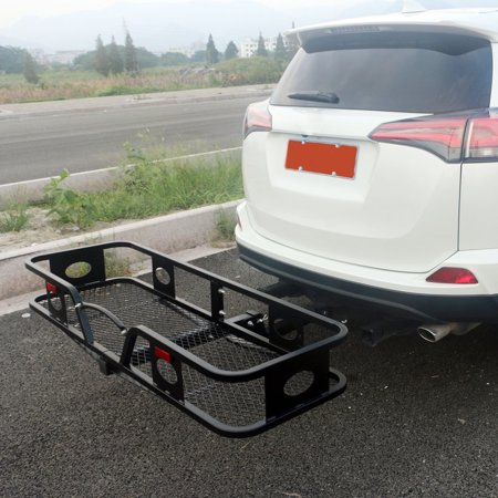 Folding Cargo Carrier Luggage Rack (Hauler Truck or Car Hitch 2