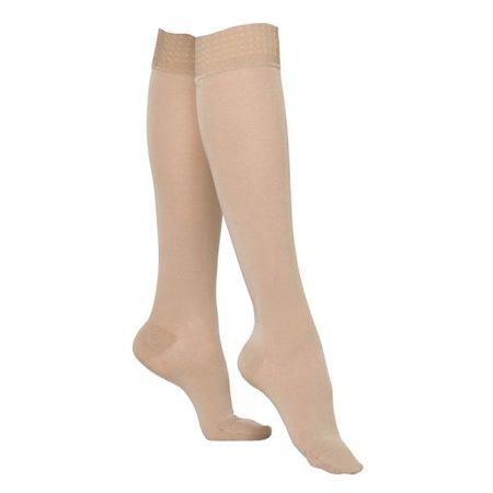 02e1d197a5c 862 Select Comfort Women s Closed Toe Knee Highs w Grip Top -20-30 mmHg  Short Sig 862C-WGT