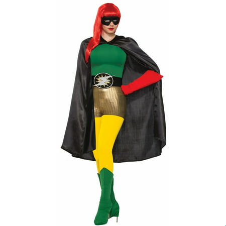 Black Adult Cape Halloween Costume - Black Cape Costume