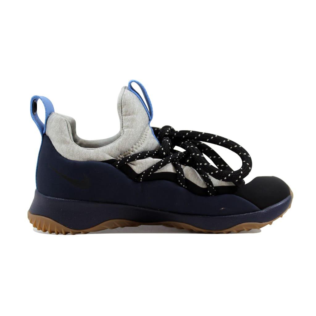 Nike Women's City Loop Obsidian / Black - Pale Grey Ankle-High Fabric Fashion Sneaker 8M