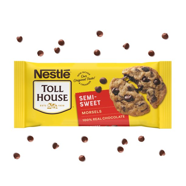 Nestle Toll House Semi Sweet Chocolate Chips 12 oz.