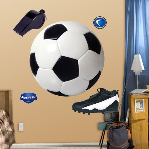 Fathead Assorted Soccer Wall Decal