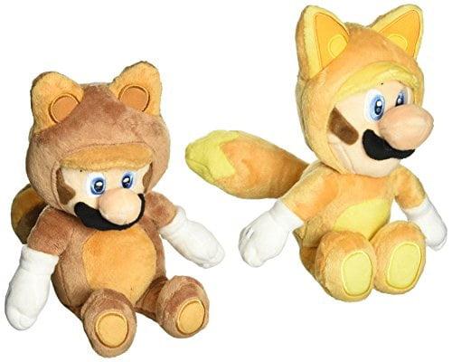 "Flying Racoon Fire Mario 8/"" Super Mario #SM Plush Doll"