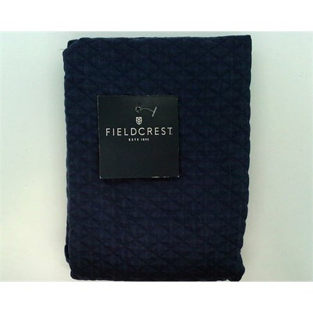 - Fieldcrest Metallic Blue Diamond Matelasse Euro Sham