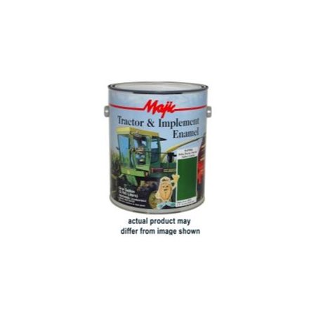 Tractor Implement Paint - Majic Paints 8-0964-1 Majic Tractor And Implement Enamel, Gallon John Deere Yellow