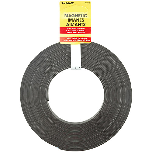 "Magnum Magnetics Corp Adhesive Magnetic Strip-1/2""X25'"