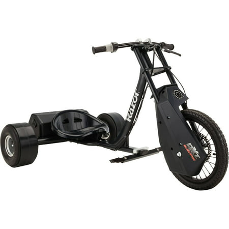Razor DXT Electric Drift Trike with Adjustable Seat and Variable Speed
