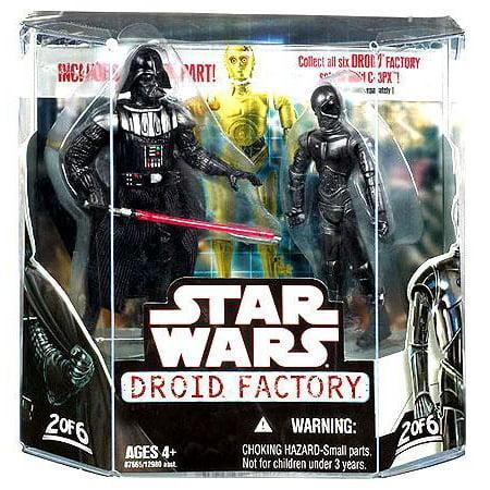 Star Wars Droid Factory 2008 Darth Vader & K-3PX Action Figure 2-Pack (Star Wars K)