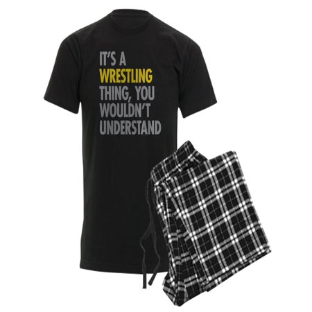 2159806f CafePress - CafePress - Its A Wrestling Thing - Men's Dark Pajamas -  Walmart.com