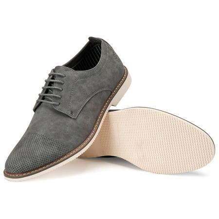 Mio Marino Men's Deevor's Perforated Casual Dress Shoe