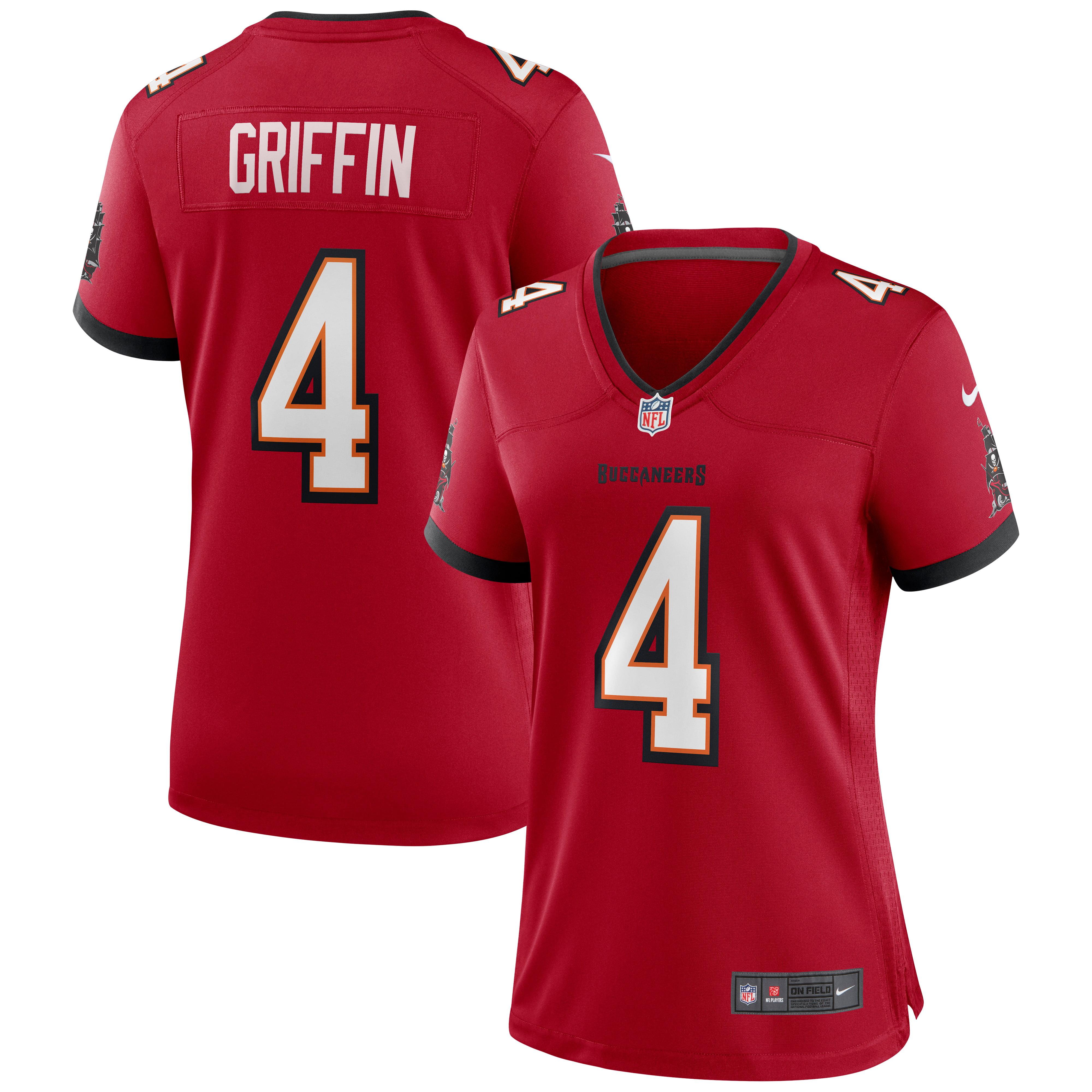 Ryan Griffin Tampa Bay Buccaneers Nike Women's Game Jersey - Red - Walmart.com