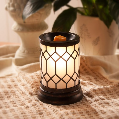 ScentSationals Full-Size Wax Warmer, Bronze Lantern