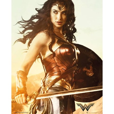 Wonder Woman Sword Poster - 16x20