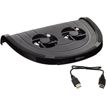 Laptop Cool Riser, Black (8018201), Keeps your laptop/netbook cooler for personal comfort By Fellowes