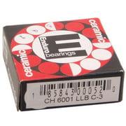 ABI Ceramic Hybrid 6001 LLB Sealed Cartridge Bearing 12 x 28 x 8