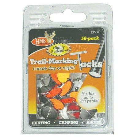 Hunting Made Easy HME-RT-50 Reflective Tacks (50 pack) orang