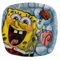 SpongeBob SquarePants 'Bubbles' Large Paper Pocket Plates (8ct)