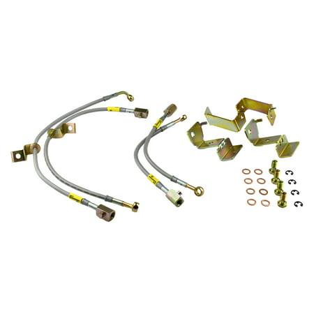 Goodridge Usa 12364 G Stop Ss Braided Brake Line Kit Fits 05 14 Mustang