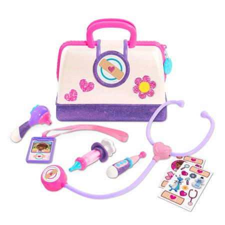 Doc Mcstuffins Toy Hospital Doctor's Bag Set - Doc Mcstuffin Lambie