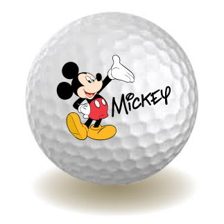 Magnet Disney Mickey Mouse 1 2 Golf Ball New Toys Gifts Licensed 85144 by Monogram