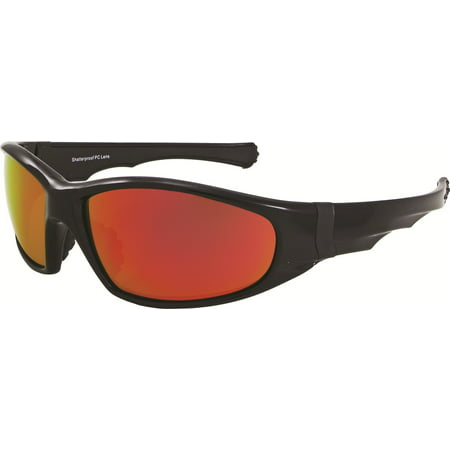 ca125dc266 Chilis Eye Gear - Chili s Eye Gear FOXFIRE Wraps Sports M10118 Shatterproof  Sunglasses - Walmart.com