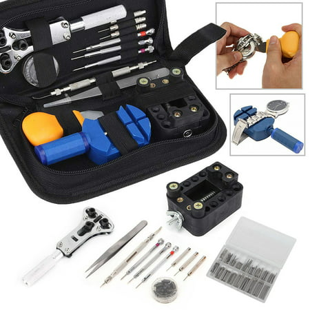 399 in 1 Watch Repair Tool Set W/ Holder Case Link Opener Remover Spring Bar Screwdriver Watch Replacement Parts & Accessories With Case Eta Watch Parts