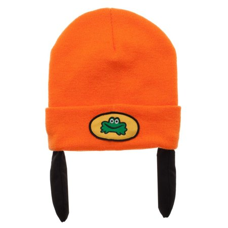 PaRappa The Rapper Knit Cap Gift Sony Playstation Costume Hat Halloween (Classroom Halloween Stations)