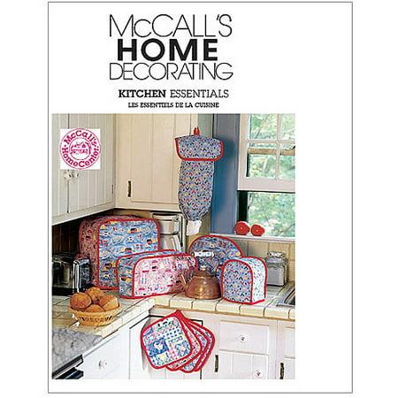 McCall's Pattern Kitchen Essentials, 1 Size Only