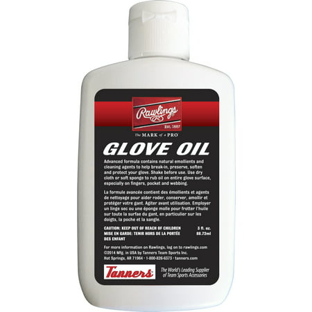 Rawlings Baseball Glove Oil Baseball Glove Conditioning Oil