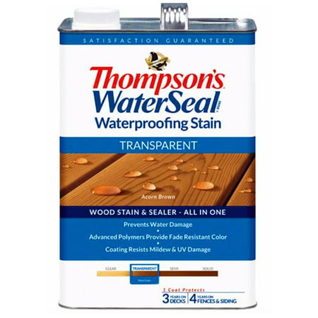 Transparent Stain Tip Kit - Thompsons WaterSeal Transparent Waterproofing Stain