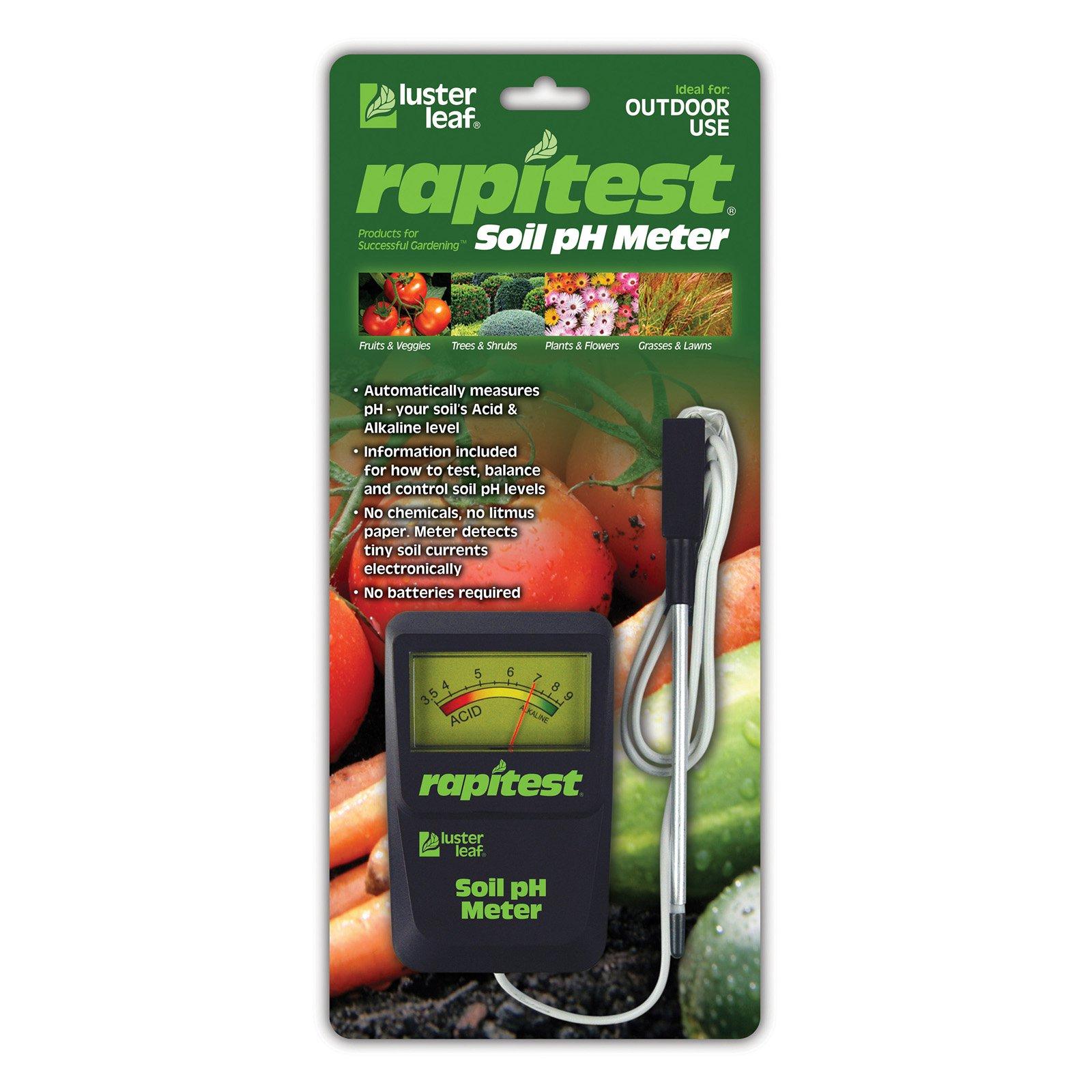Luster Leaf Rapitest Soil pH Meter