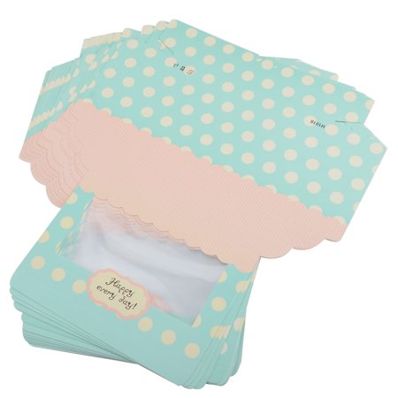 Anniversary Paper Dots Print DIY Cake Muffin Case Candy Biscuit Box Holder - Cake Pop Holder Diy