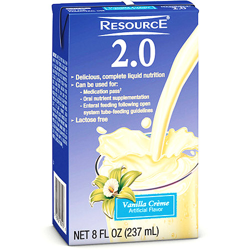 Resource 2.0 High protein balanced drink, Vanilla 27x237ml