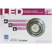 Liteline Gimbal New Construction LED Recessed Light Kit