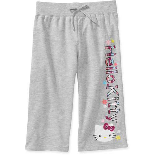 Hello Kitty Girls' French Terry Pant