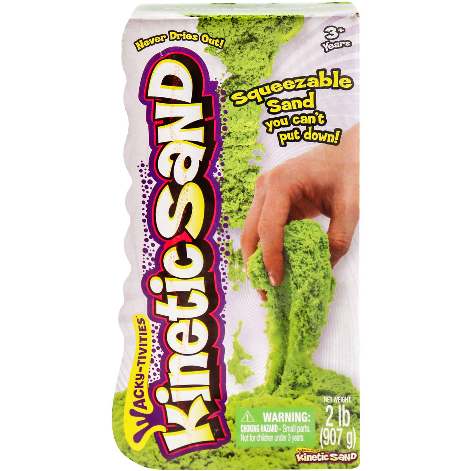 The One & Only Kinetic Sand 2 lb Bag, Neon Green