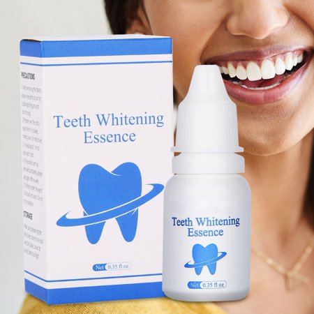 WALFRONT Teeth Whitening Essence Natural Teeth Whitening Powder Naturally Whiter Tooth Whitener (Best Way To Whiten Teeth At Home Naturally)