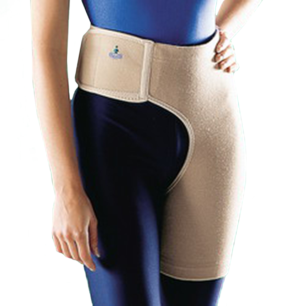 Oppo Medical Right or Left Hip Elastic Stabilizer (Unisex; Natural)