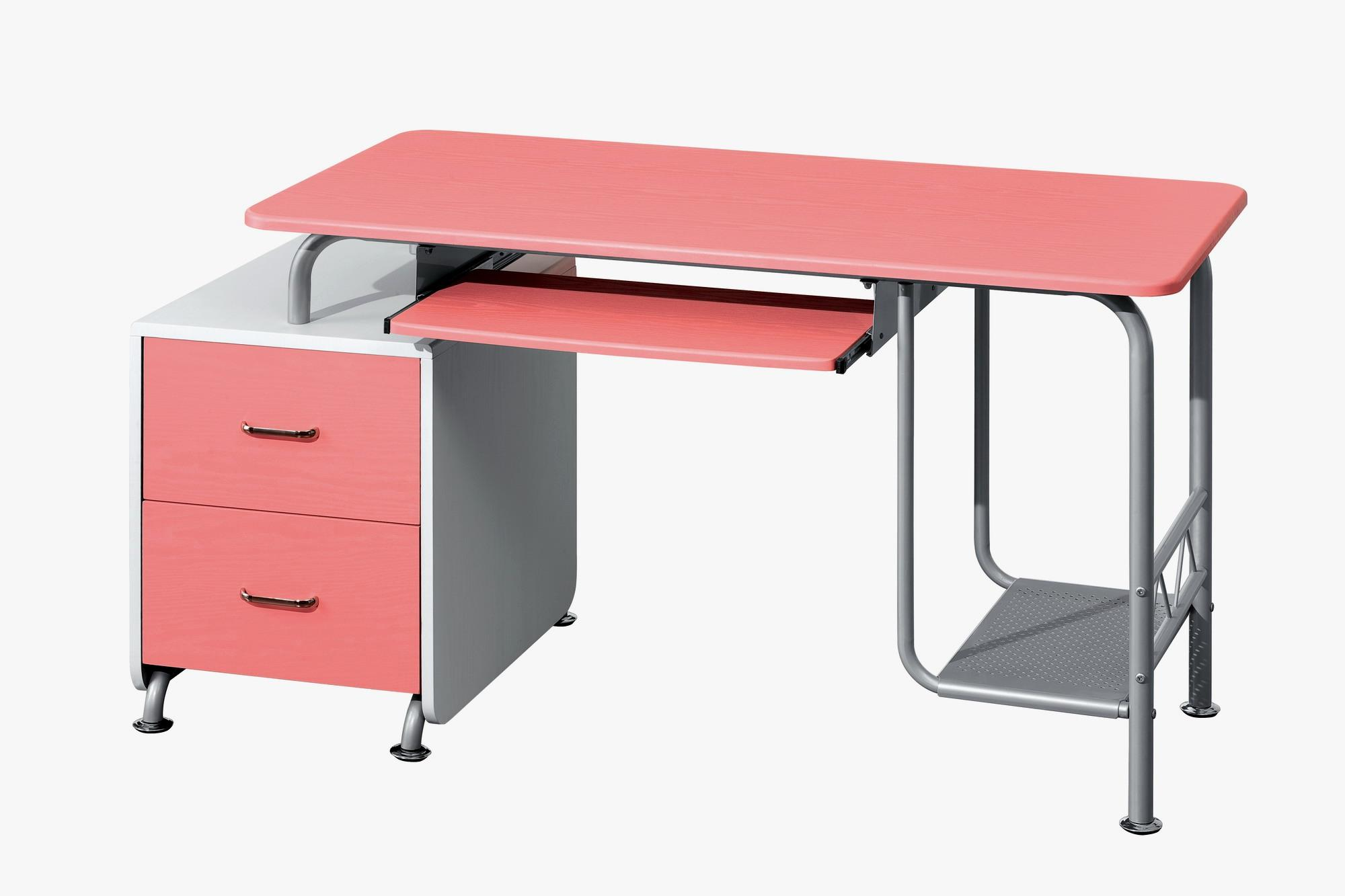 Superior TECHNI MOBILI Wood Computer Desk In Pink And White   Walmart.com