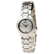 CITIZEN Women's 42 Diamond Eco Drive Stainless Steel Watch