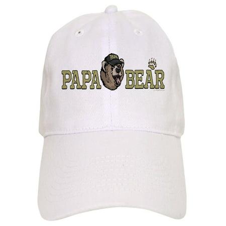 248d62d1f CafePress - New Papa Bear Dad - Printed Adjustable Baseball Cap
