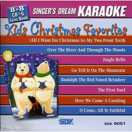 Christmas Karaoke Cd.Kids Christmas Favorites Karaoke Cd Walmart Com