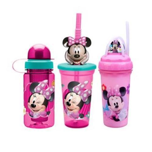 Zak Design zak design minnie mouse mmnd-5500 15 oz buddy sip bottle, pack