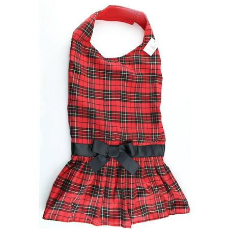 XXX-Large Tartan Plaid Dress for Big Dogs by Midlee (Tartan Plaid Dress)