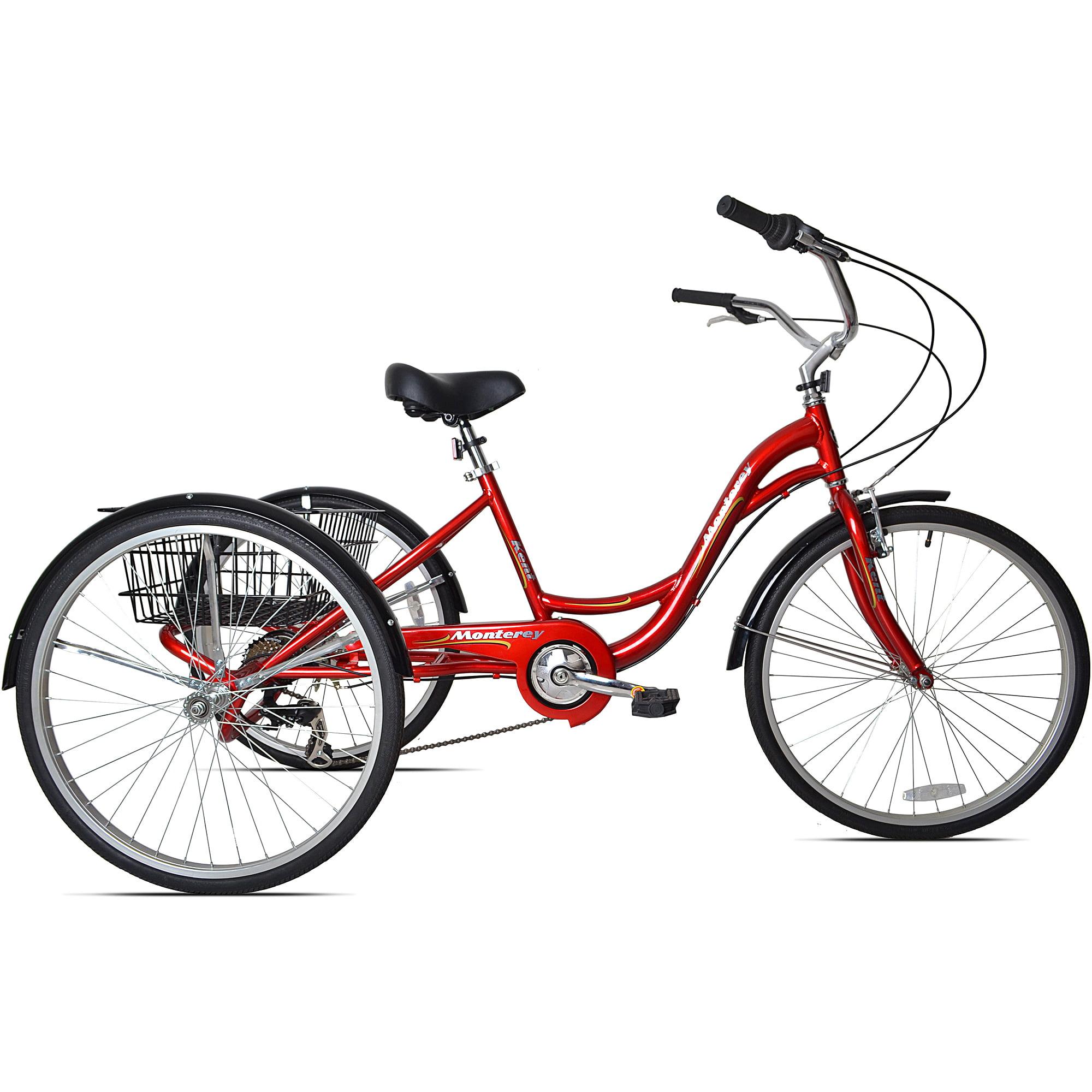 Schwinn Meridian Tricycle 26 Inch Wheels Dark Silver